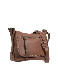 Sanctuary - Multicolor Leather City Saddle Flap Shoulder Bag - Lyst