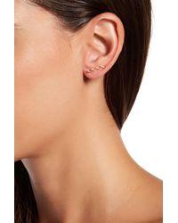 Gorjana | Metallic Zigzag Ear Climbers | Lyst