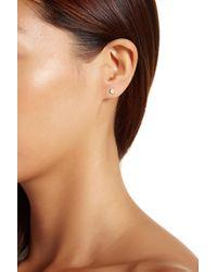 Gorjana - Metallic 18k Gold Plated Lonny Stud & Climber Mix Match Earrings - Lyst