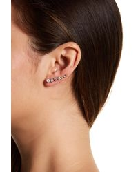 Melinda Maria | Multicolor Julie Ear Climber & Stud Earrings Set | Lyst