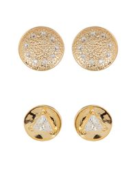 Melinda Maria | Multicolor Joan Pod Stud & Mini Nelly Stud Earrings Set | Lyst