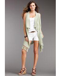 Subtle Luxury - Multicolor Eco Lux Fringe Easy Vest - Lyst
