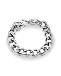 Steve Madden   Metallic Classic Curb Chain Bracelet   Lyst