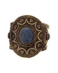 Steve Madden - Metallic Circle Statement Cuff Bracelet - Lyst