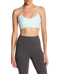Steve Madden | Gray Strappy Sports Bra | Lyst