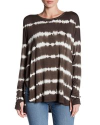 Sweet Romeo - Multicolor Long Sleeve Dolman Tee - Lyst