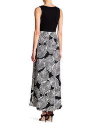 Eva Franco - Black Knightley Belted Maxi Dress - Lyst