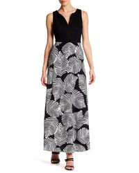 Eva Franco - Black Knightley Belted Maxi Dress - Lyst