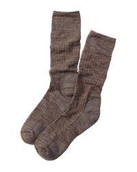 Smartwool | Brown New Classic Rib Crew Socks for Men | Lyst