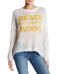 The Laundry Room | White Beach Bummies Sweater | Lyst