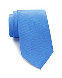 Ben Sherman | Blue Silk Solid Tie for Men | Lyst