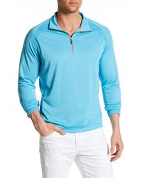 Tommy Bahama | Blue New Firewall Half Zip Pullover for Men | Lyst