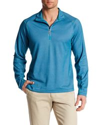Tommy Bahama   Blue Double Eagle Half Zip Pullover for Men   Lyst