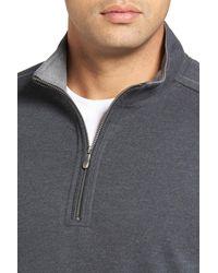 Tommy Bahama - Gray Marina Quarter Zip Pullover for Men - Lyst