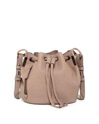 Time's Arrow - Multicolor Lida Leather Mini Bucket Bag - Lyst