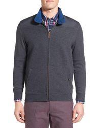 Ted Baker | Gray 'marbs' Full Zip Sweatshirt for Men | Lyst
