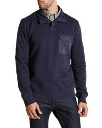 Timberland | Blue Browns Rugged 1/2 Neck Pullover for Men | Lyst