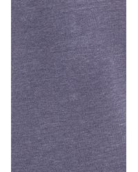 Treasure & Bond | Multicolor Off The Shoulder Fleece Knit Dress | Lyst