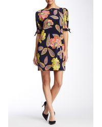 Trina Turk - Multicolor Vintage Jersey Shift Dress - Lyst