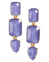 Loren Hope   Blue Terra Jeweled Drop Earrings   Lyst