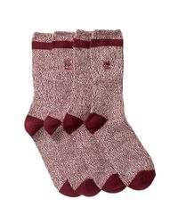 Timberland | Multicolor Marled Crew Socks - Pack Of 2 for Men | Lyst