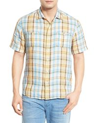 Tommy Bahama | Blue Madras Madness Breezer Original Fit Sport Shirt for Men | Lyst