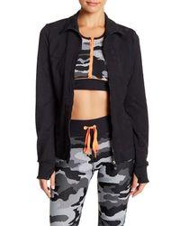 Trina Turk | Black Jacquard Jacket | Lyst