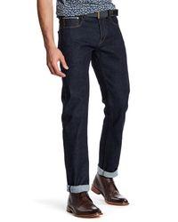Ted Baker | Blue Selvdge Rise Jean for Men | Lyst