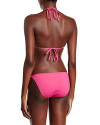 Tommy Bahama - Pink Pearls String Full Coverage Bikini Bottom - Lyst