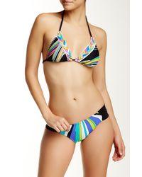 Trina Turk   Black Big Sur Triangle Bikini Top   Lyst