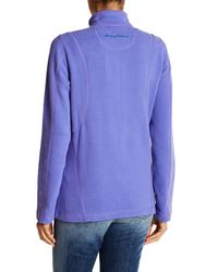 Tommy Bahama | Blue Aruba Full Zip Sweatshirt | Lyst