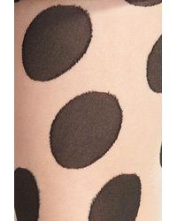 Hue - Natural Large Polka Dot Pattern Tight - Lyst