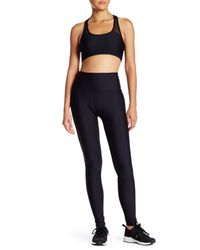 C&C California - Black Mesh Piecing Legging - Lyst