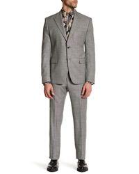 Versace | Multicolor Notch Lapel Two Button Print Wool Suit for Men | Lyst