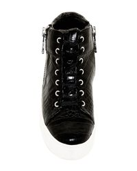 Rachel Zoe | Blaine Sneakers with Chain  Black | Lyst