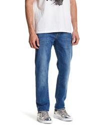 Versace | Blue Slim Denim Jean for Men | Lyst