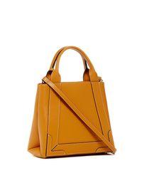 Valentino By Mario Valentino - Multicolor Audrey Saffiano Leather Convertible Satchel - Lyst