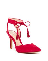 Vince Camuto | Red Bomina Heel | Lyst