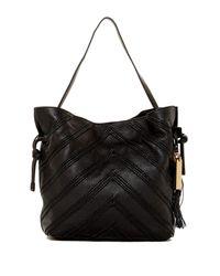 Vince Camuto   Black Nella Leather Hobo Bag   Lyst