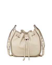 Vince Camuto | Natural Rayli Leather Crossbody | Lyst
