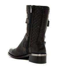 Vince Camuto - Black Welton Leather Mid-Calf Boots - Lyst