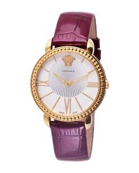 Versace - Metallic Women's Krios Quartz Watch - Lyst