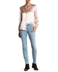 Genetic Denim | Blue Shya Splatter Print Skinny Jean | Lyst