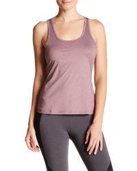 Alo Yoga | Pink Mika Open Back Tank | Lyst