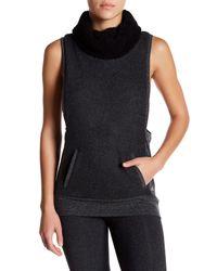 Alo Yoga | Multicolor Fleece Lined Frost Winter Vest | Lyst