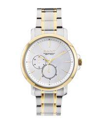 Gant | Metallic Women's Lauderdale Two-tone Bracelet Watch | Lyst