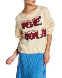 Wildfox | Multicolor Ice Cold Sweater | Lyst