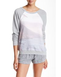 35mm - White Jenna Graphic Sweatshirt - Lyst