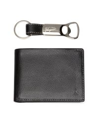 Original Penguin | Multicolor Leather Bifold Wallet With Bottle Opener Keychain for Men | Lyst