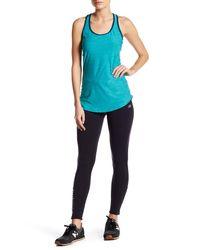 New Balance - Blue Performance Fleece Lined Tight - Lyst